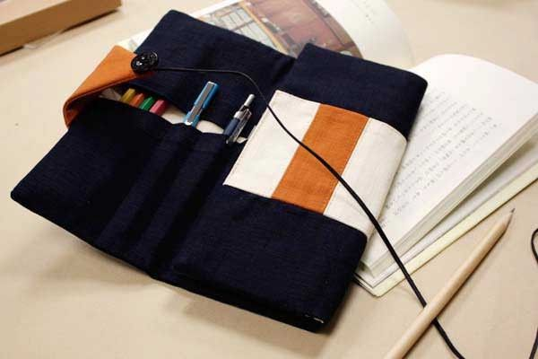 Japanese Pencil Roll - Osamu Japanese Roll Pencil Case | CoolPencilCase.com