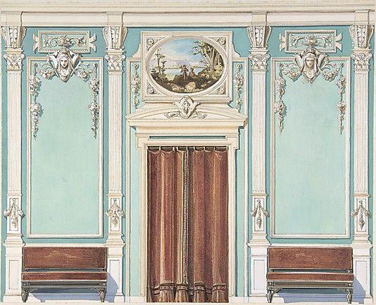 Edwardian Interiors - circa 1900