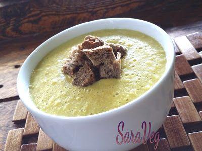 SaraVeg: Zuppa di mais fresco - Vegan