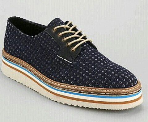 Multi-color brogues ...
