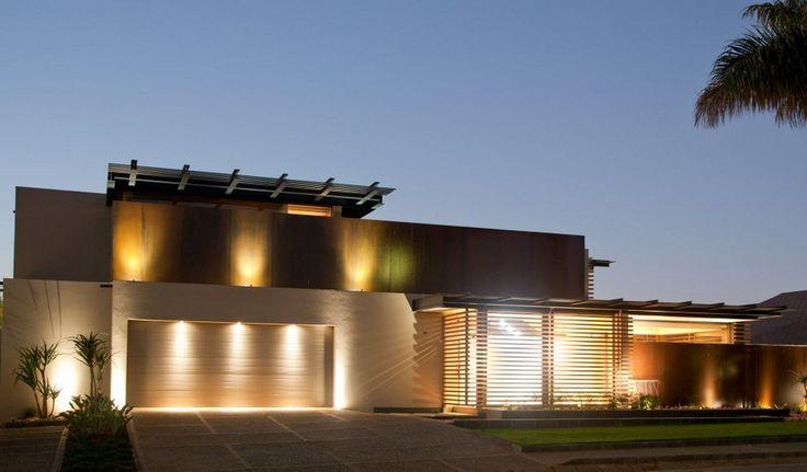 modern tropical home ideas exterior lighting design home design architectural home exteriors pinterest lighting desi