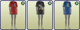 HipJersey sleepshirt for AF/TF/EF.