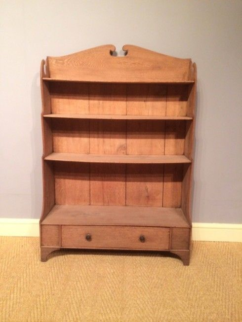 A 19th Century Oak Bookcase