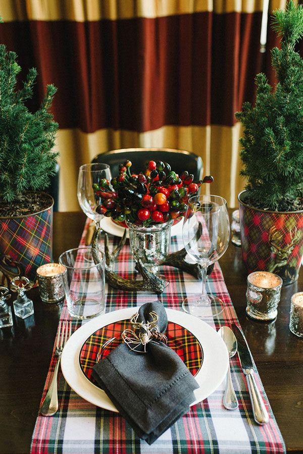 185 Best Tartan In The Dining Room Images On Pinterest