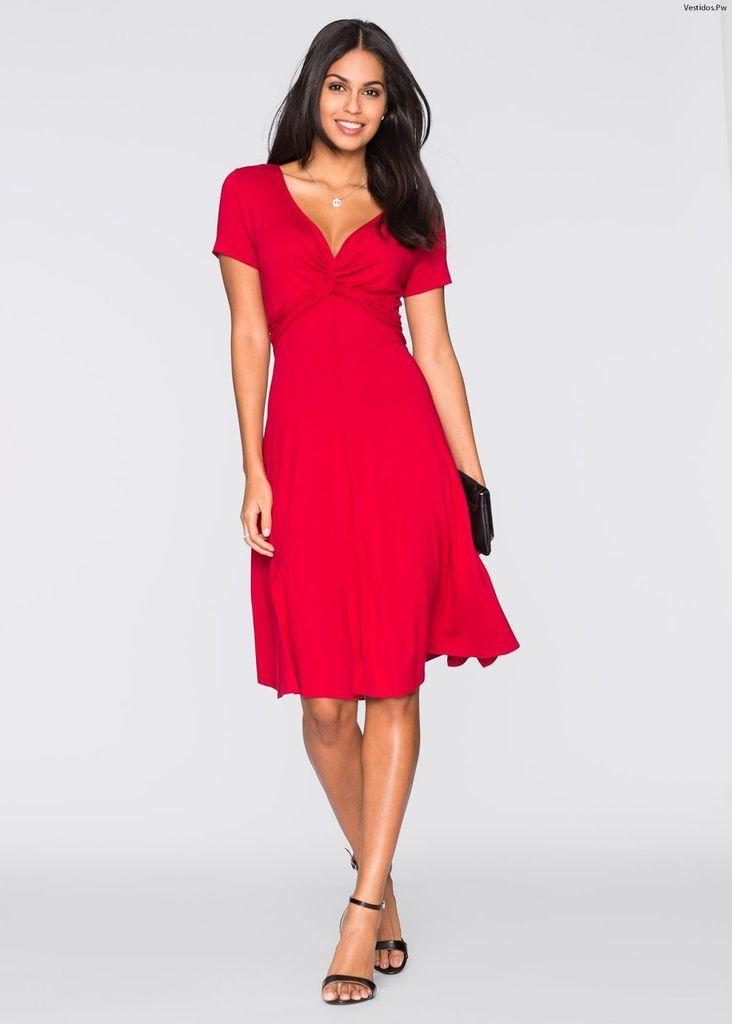 a06f1bcebeb1c Vestidos rojos  +25 modelos seductores y llamativos para ser ¡La chica  sensación!