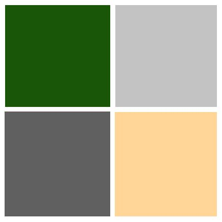 De 25 bedste id er inden for hunter green bedrooms p for Light gray color swatch