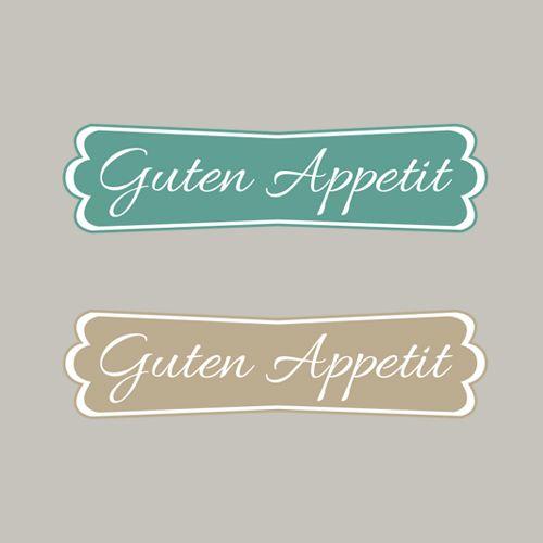 Guten Appetit, Essen, Küche, Stampin´Up! Stempeln, Craft, Modernes Label, basteln, stampin https://www.facebook.com/Colorspell