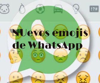 Los Nuevos Emojis de WhatsApp para sus aplicaciones gratis http://www.mundomovil.club/nuevos-emojis-de-whatsapp/