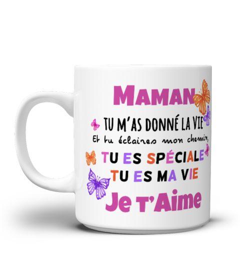 """Mug pour notre Maman CADEAU IDEAL  Emportez le partout et gardez votre bonne humeur ;) >>>> LIVRAISON DANS LE MONDE ENTIER A réserver d'urgence,NON VENDU EN BOUTIQUE!  >>>> VISITEZ NOTRE BOUTIQUE SPECIALE FÊTES ET ANNIVERSAIREShttps://www.teezily.com/stores/idee-cadeau-fete-des-meres-peres  Paiement entièrement sécurisé via PAYPAL   VISA   MASTERCARD Cliquez sur """"Acheter"""" pour acheter le vôtre dès mai..."""