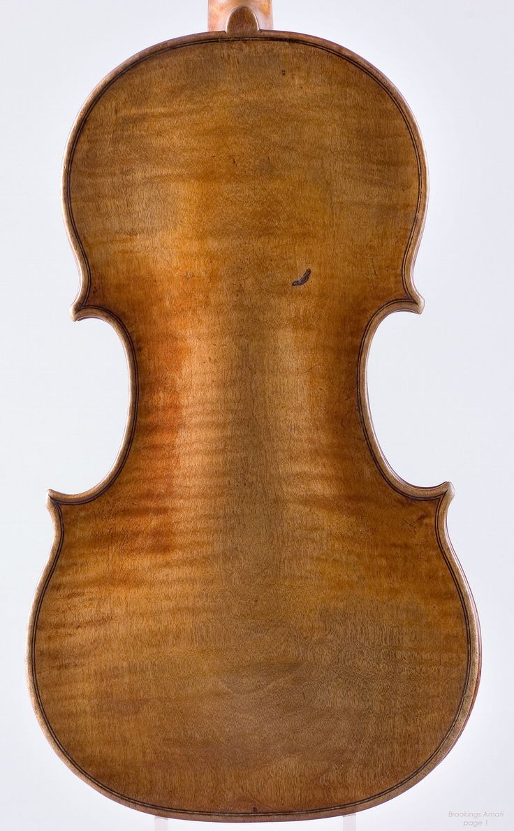 Old wood minerale interior of violin - 1654 Nicolo Amati Violin Brookings From Library Of Congress Collection