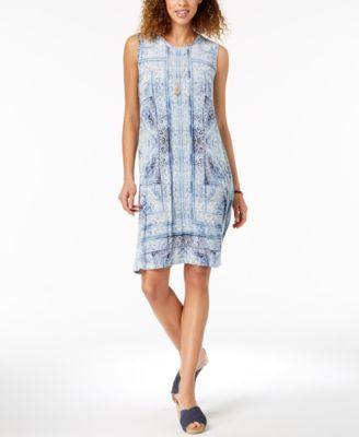 c16ac2de1b894 Style&Co. Style & Co Printed Swing Dress | Products | Swing dress ...