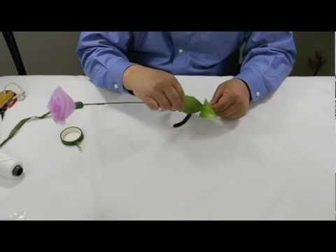 FREE VIDEO TUTORIAL ~ How to Make Carnation Flower