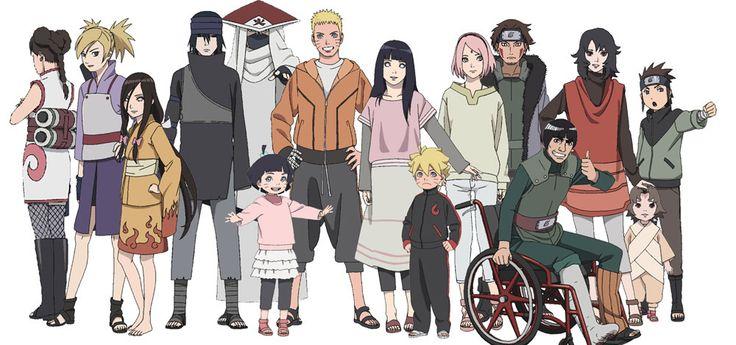 The Last: Naruto The Movie / Naruto Shippuden: Characters