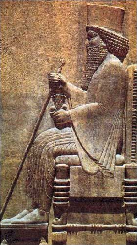Darius I - better known as Darius the Great of Persia. He is famous for having defeated the Greeks of Ionia during the Ionian revolt and led the Persians during the First Persian War.