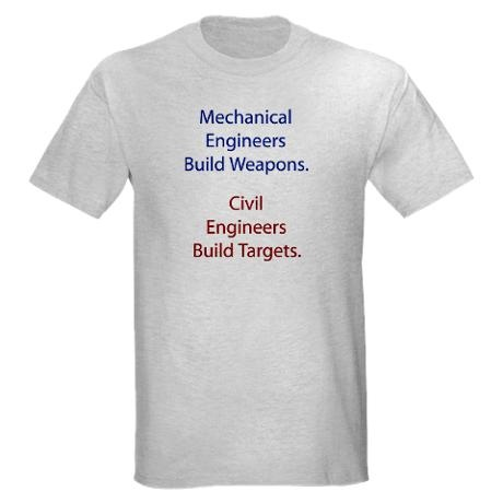 Mechanical Engineers and Civil Engineers Ash Grey