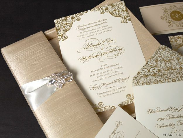 67 best Patterned Wedding Invitations images on Pinterest