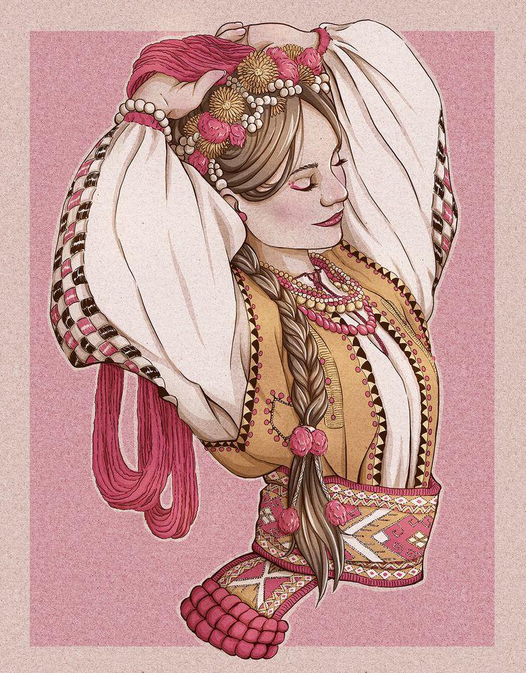 #slavicbeauty #slava #slowianka #rodzimowierstwo #beauty #fashion #folk #hucul #strojhuculski