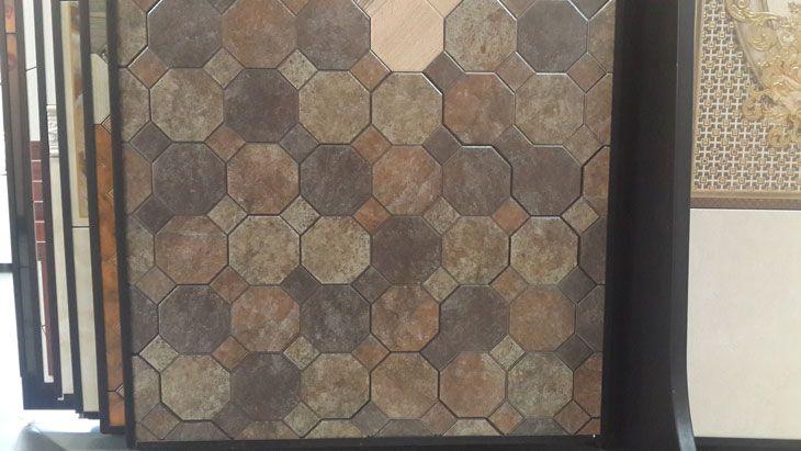 Модные октагоны и напольные панно в коллекциях плитки от испанской фабрики Ceramica Gomez