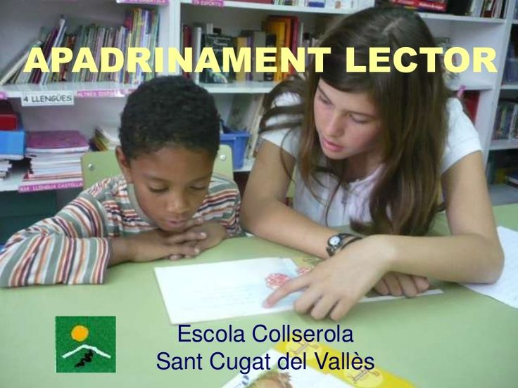 Apadrinament lector ESC Collserola by crpsantcugat via slideshare