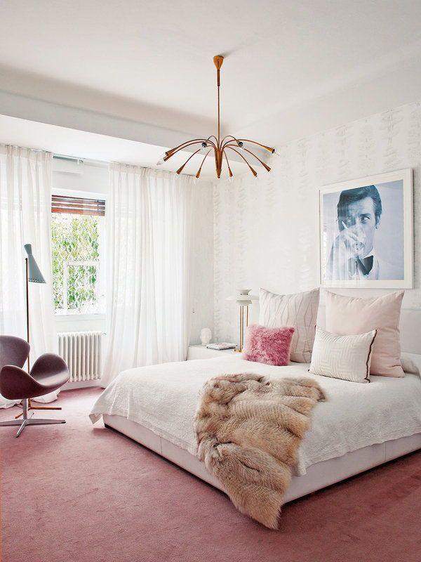 think pink ampliacion d dormitorio feminine bedroom bedroom rh pinterest ca