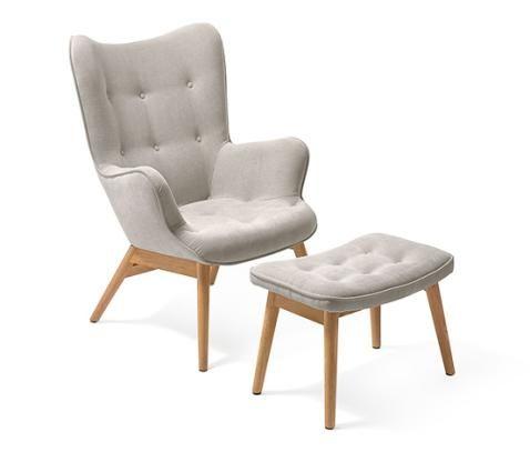Sessel mit Fußhocker online bestellen bei Tchibo 343056