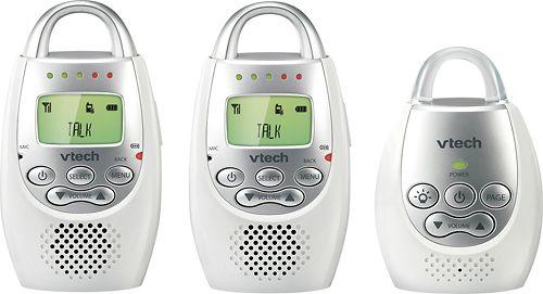 VTech - Safe & Sound Digital Audio Baby Monitoring System - white