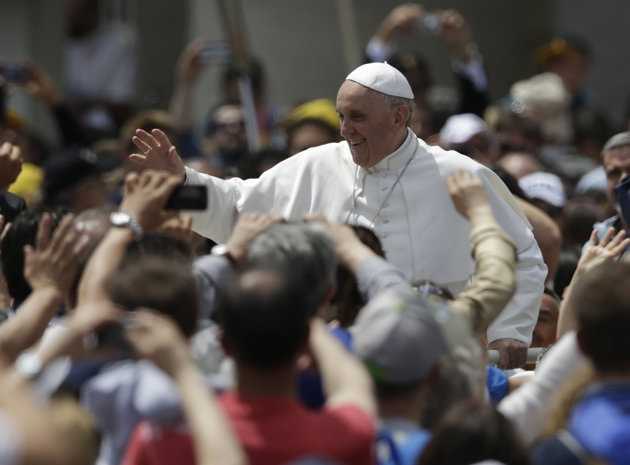 Pope: church should open up but follow teaching