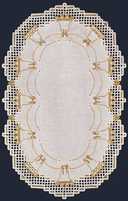 This festive #Hardanger #runner is ringed with bells, perfect for you holiday…