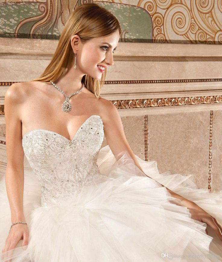 Demetrios 579 Ball Gown Wedding Dresses 2015 Ivory Tulle