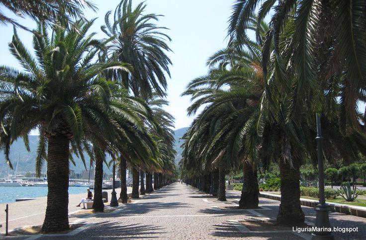 Liguria Marina: luglio 2013 Passeggiata Morin, La Spezia