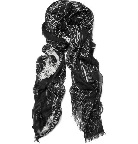 Cashmere Silk Scarf - SACRED GEOMETRY CASHMERE by VIDA VIDA 8EzlIkz