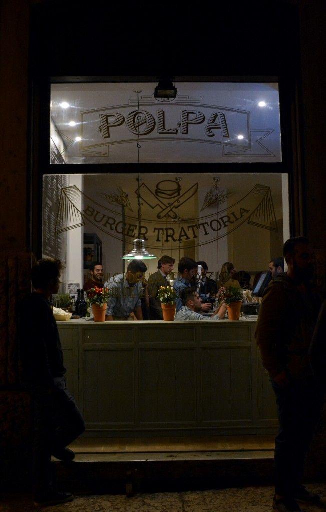 polpa burger trattoria: artigianalità culiniaria in centro a Verona. Tutte le foto dell'inaugurazione su www.casabaze.com
