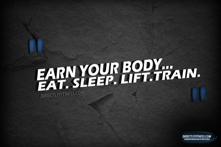 Earn Your Body~ every morning so far!!!!!