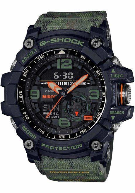7c83a9504ac4 G-Shock GG1000BTN-1A Mudmaster Burton Collab Limited Edition ...