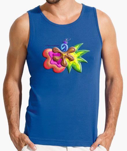 Camiseta sin mangas de hombre Explosión de Color - Man t-shirt Color Explosion - #Shop #Gift #Tienda #Regalos #Diseño #Design #LaMagiaDeUnSentimiento #MaderaYManchas #Man #Hombre #tshirt #Cool #colors #cute