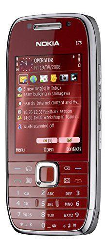 Nokia E75 SIM-Free Mobile Phone - Red - http://www.computerlaptoprepairsyork.co.uk/mobile-phones/nokia-e75-sim-free-mobile-phone-red