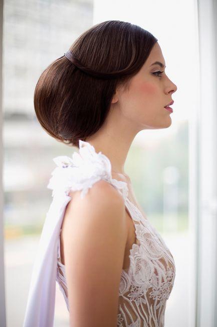 Wedding dress# bridal 2015#white wedding#tulip# lace