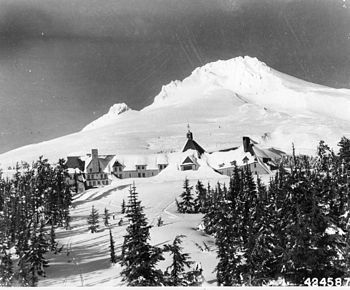 Timberline Lodge - Wikipedia, the free encyclopedia ... The exterior film shots for  movie The Shining