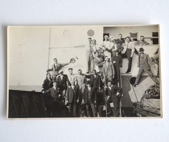 Foto di Fiume 1930 vera fotografia italiana vintage
