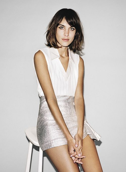 Alexa Chung photographed by Angelo Pennetta for Vogue Girl