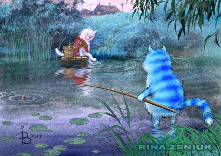 Просмотреть иллюстрацию На речке, на речке, на том бережооочке... из сообщества русскоязычных художников автора Рина З. в стилях: Классика, нарисованная техниками: Растровая (цифровая) графика.