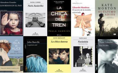 LIBROS MÁS VENDIDOS DEL 8 AL 14 DE FEBRERO en #ficción