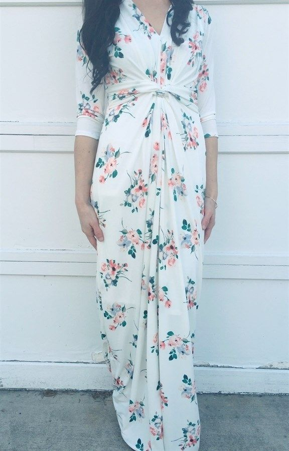 Floral Maxi Dress | Maternity Friendly!