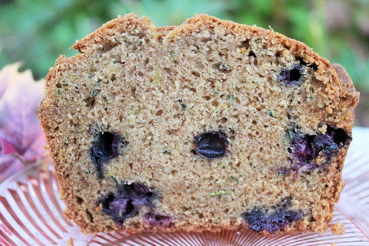 Blueberry Zucchini Bread. Wonderful recipe!