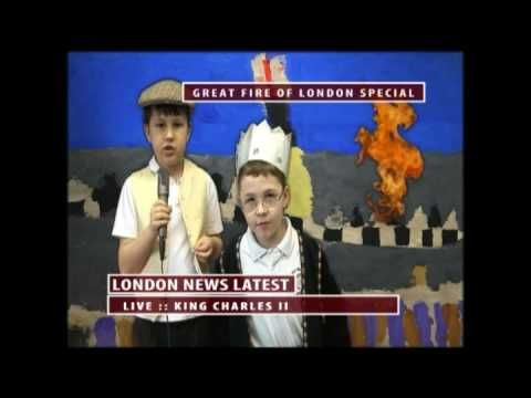 The Great Fire of London - Live News Reports Inspiration