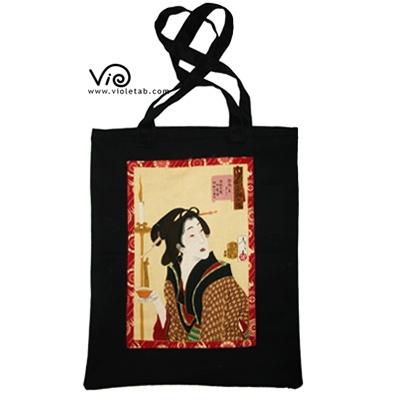 hand bag with Geisha $35