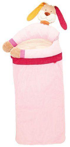 sigikid - Gute Nacht - Schlafsack Hase pink  - Größe: 160 x 60 x 11 cm - Obermaterial: Baumwolle, Polyester - Füllung: Polyesterwatte - waschbar bei 30° C - geeignet von 24 - 48 Monate