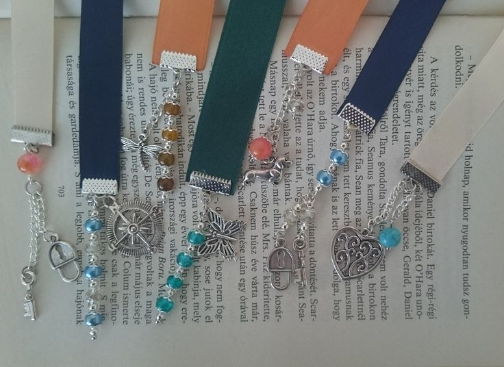 Bookmark - Bead & Charms