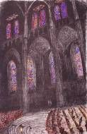 Philip Bacon Galleries :: Artists & Stockroom Lithograph Chartres