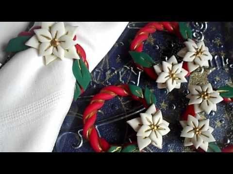 STELLA DI NATALE || DIY || anello porta tovaglioli  | #1 - YouTube